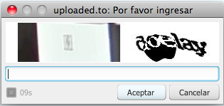 Captcha indescifrable